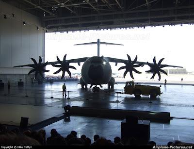 Airbus A400M in Hangar Wallpaper 342