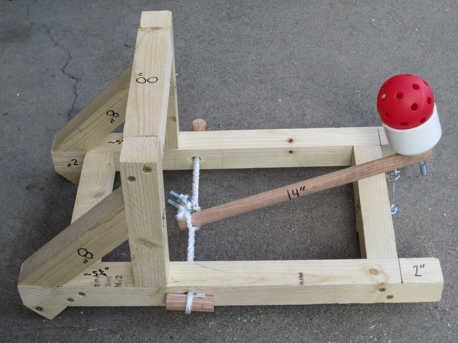 How+To+Build+A+Catapult Daddy For Life: Project: Build a Catapult