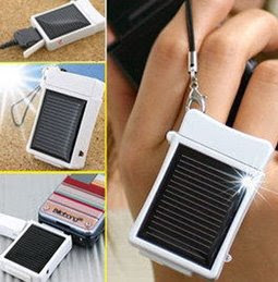 bateria de mobil con placa solar
