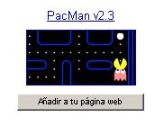 captura do xogo pacman