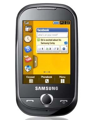Samsung Corby (samsung S3650)
