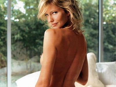 Tricia Helfer Nude Back View