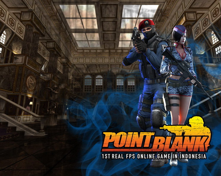 point blank indonesia lucu. logo point blank indonesia.