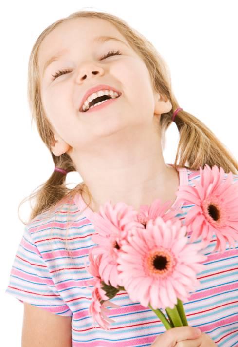 little cartoon girl smiling. smiling Smiling+girl