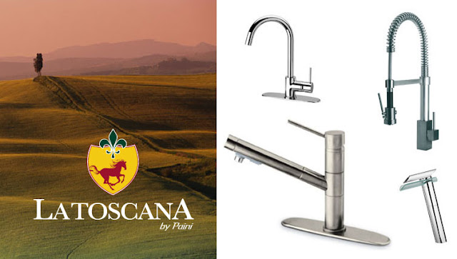 FAUCETS BY BRUCE: Faucets with an Italian Flair - Latoscana Faucets ...