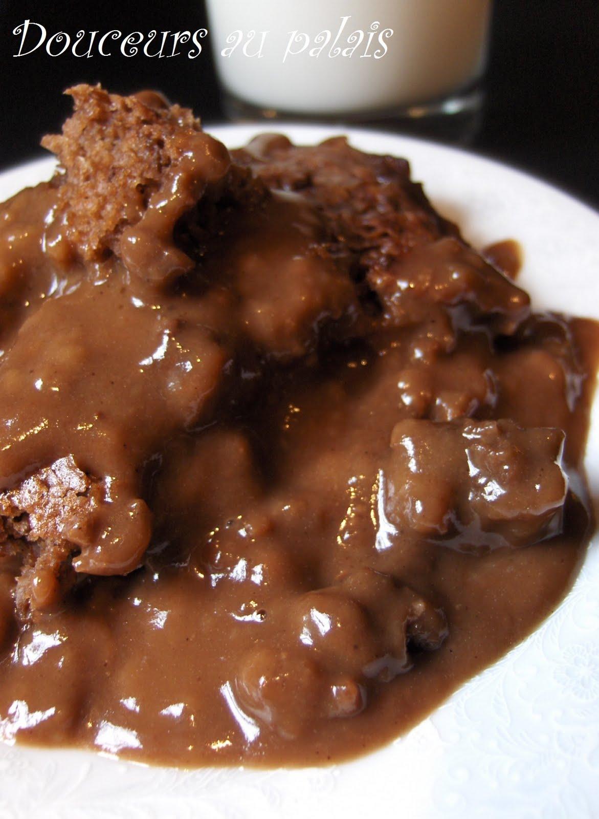 Gateau pouding au chocolat recettes