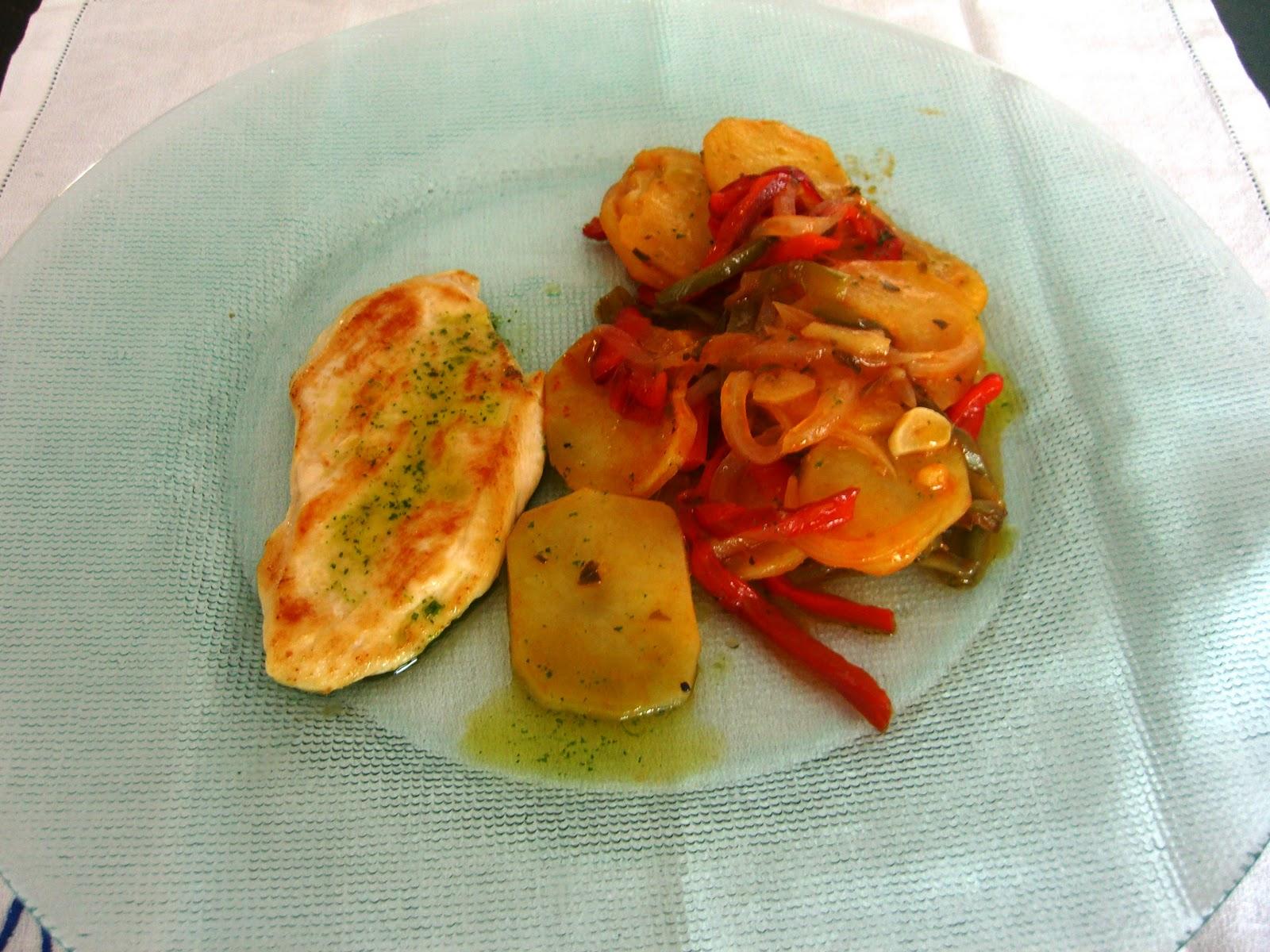 Xeca cocina patatas a lo pobre for Cocinar patatas a lo pobre
