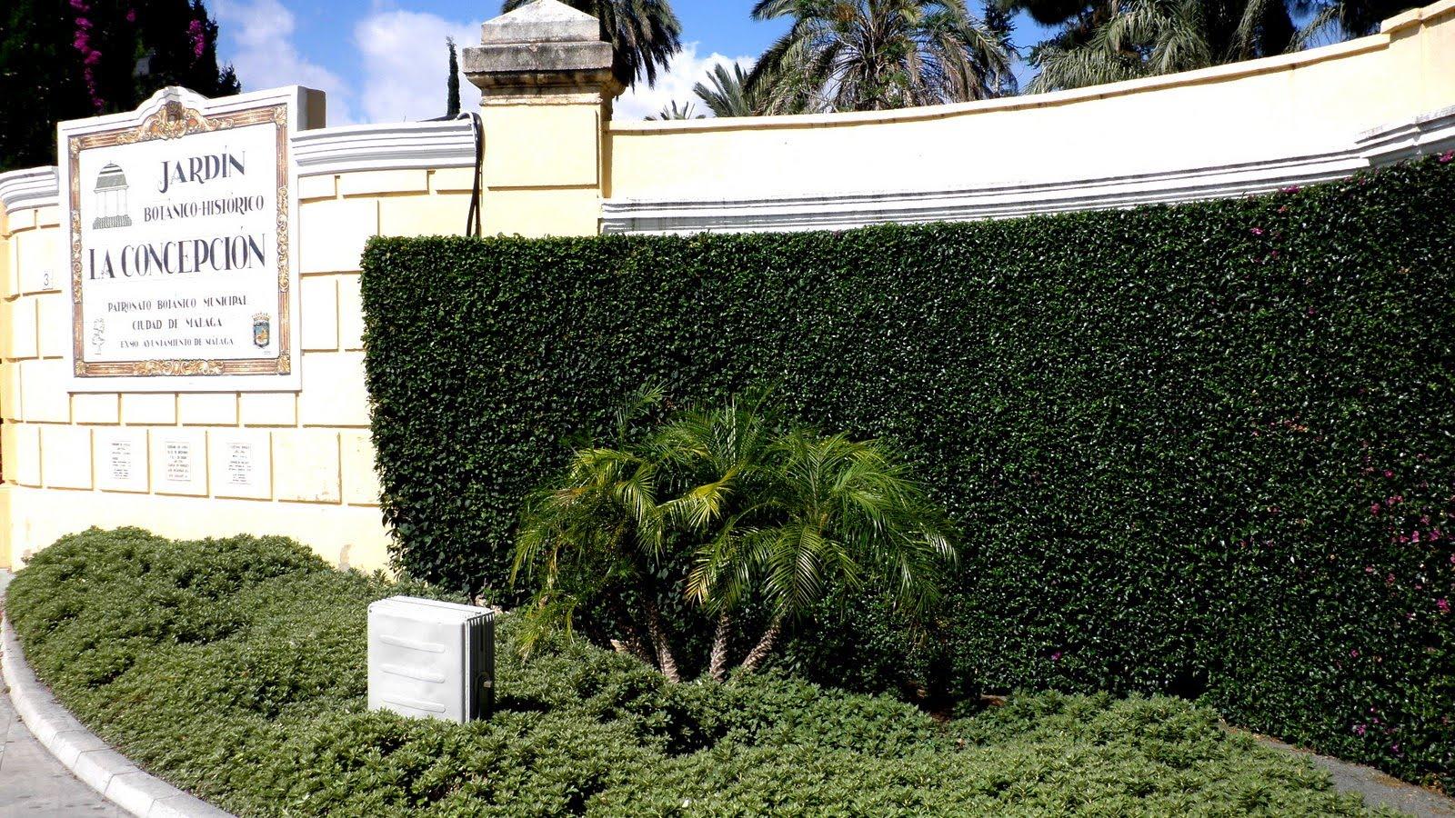 Jardinbio jardin botanico historico la concepcion 1 for Jardin botanico costo entrada