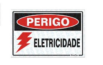 RISCO DE CHOQUE  ELÉTRICO