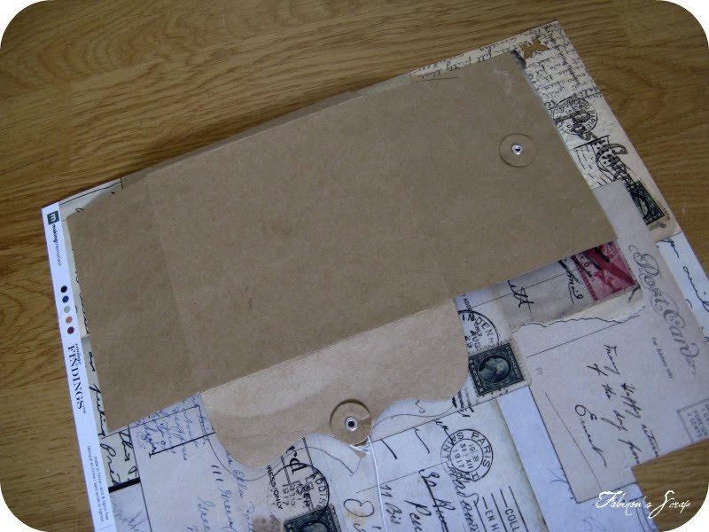 Pour tes beaux yeux le scrap de fabinou tutoriel pour - Creer une enveloppe ...