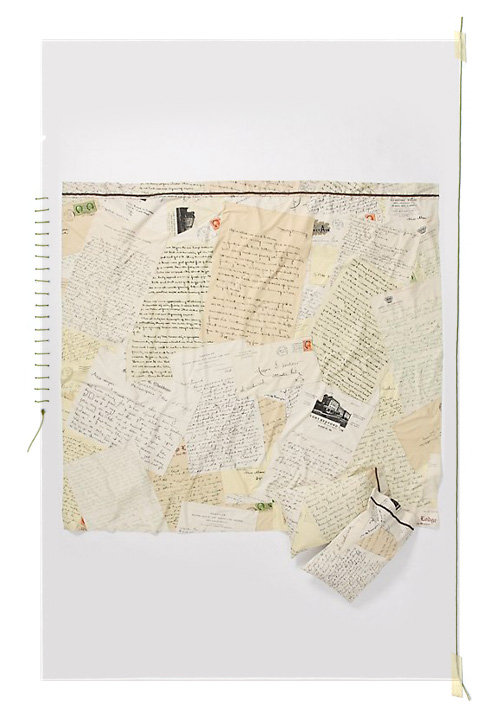 Anthropologie Love Letters Bedding