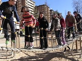 Educación Física en el parque