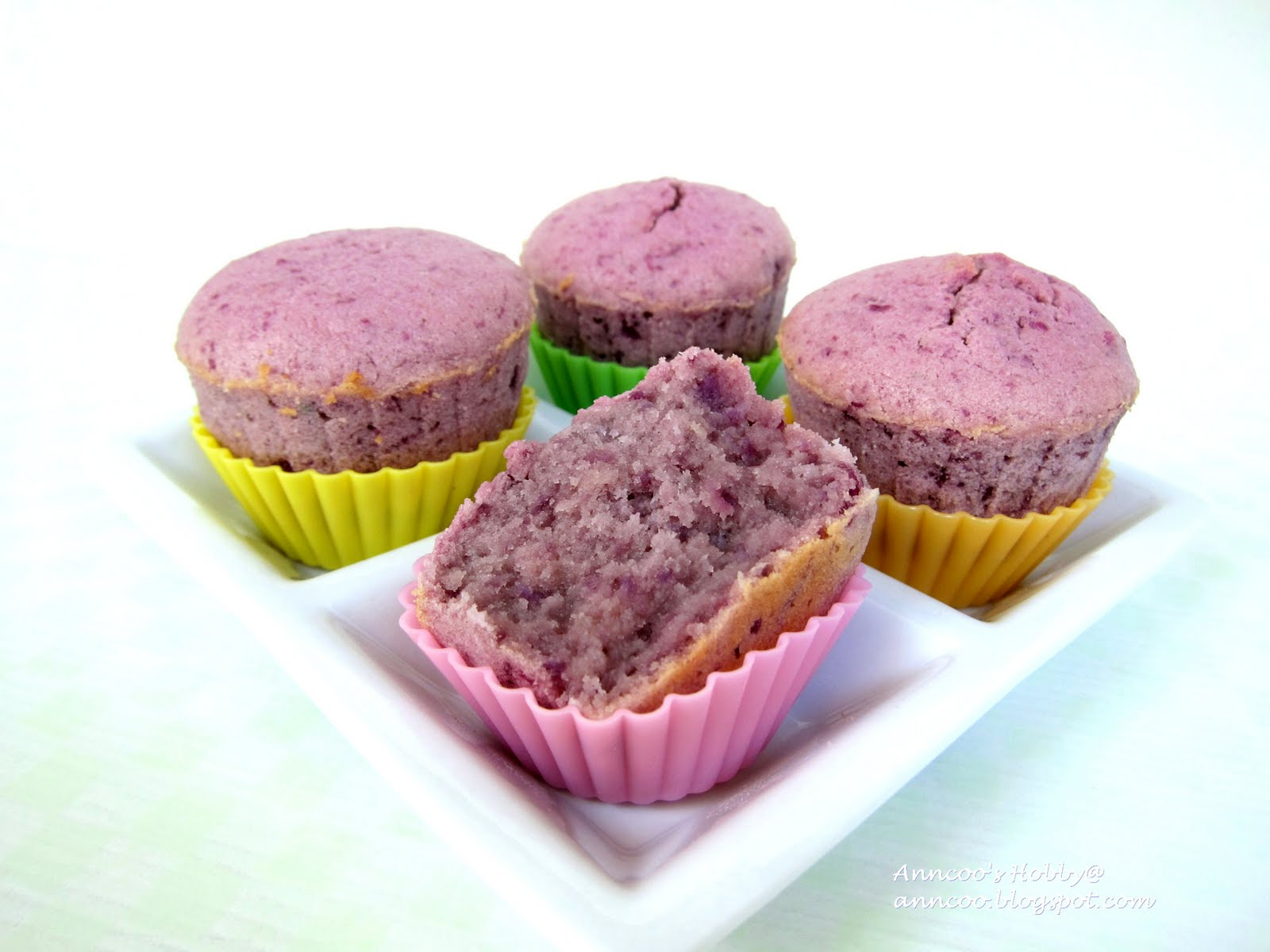 ... - Come for Quick and Easy Recipes: Purple Sweet Potato Cupcakes