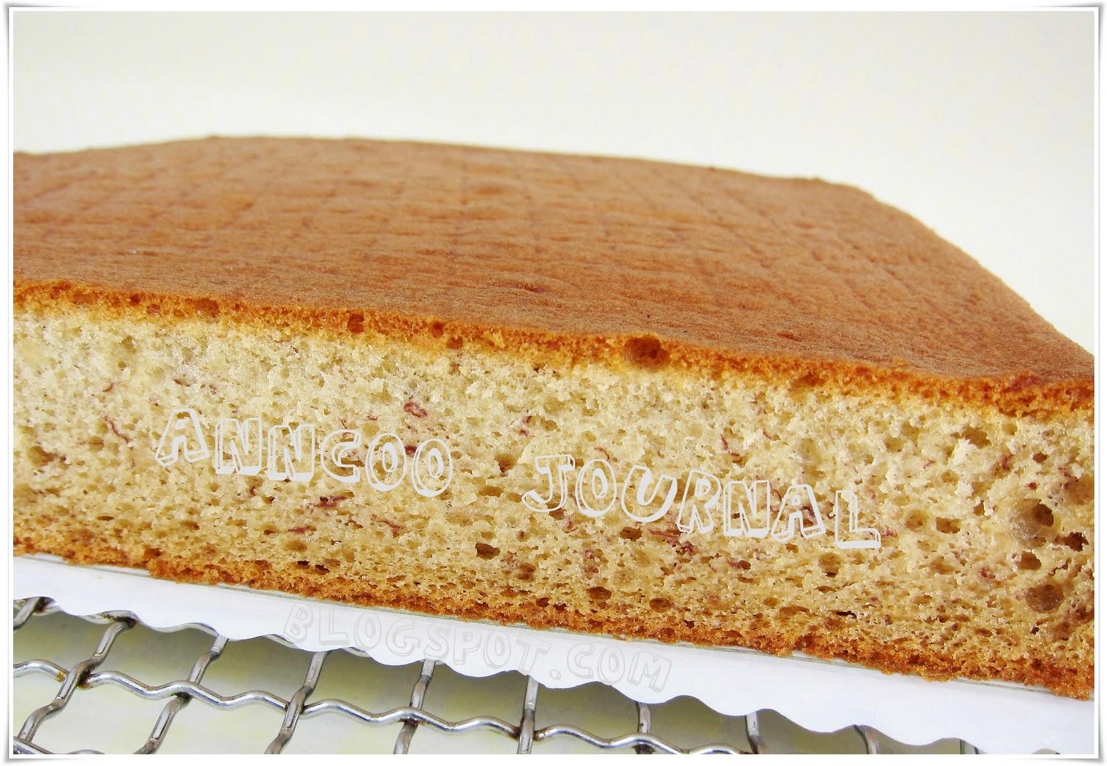 Banana Sponge Cake - Anncoo Journal