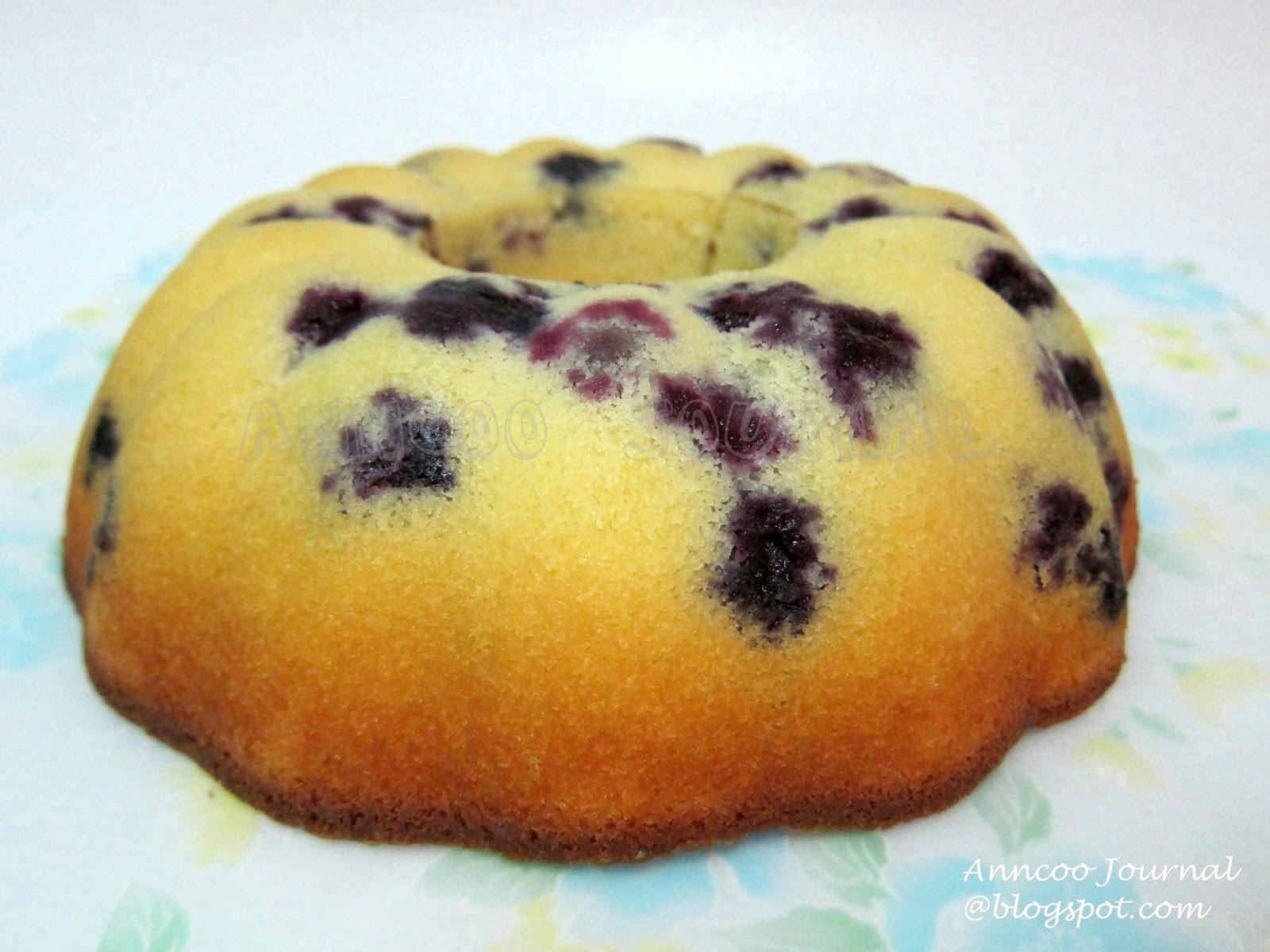 Blueberry Pound Cake | Anncoo Journal