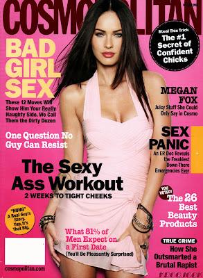 Megan Fox Cosmo Magazine Picture