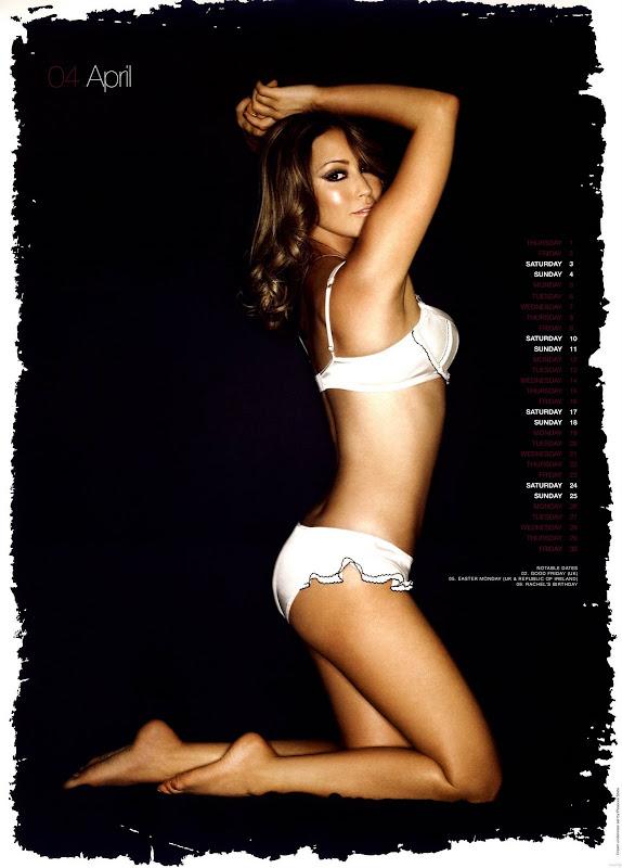 Rachel Stevens Official 2010 Calendar Picture
