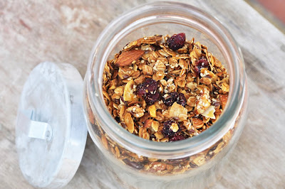Anja's Food 4 Thought: Almond Cherry Granola