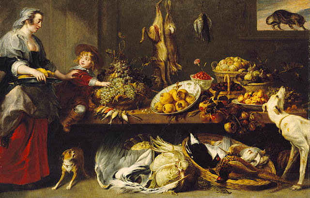 How has historical factors affected food in france italy for 17th century french cuisine