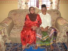 My papa n mama..