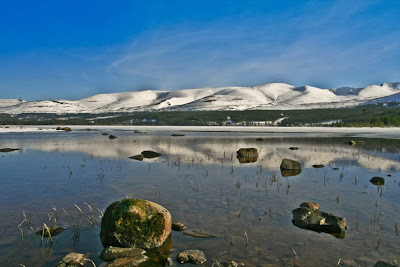 Loch Morlich and Cairngorm