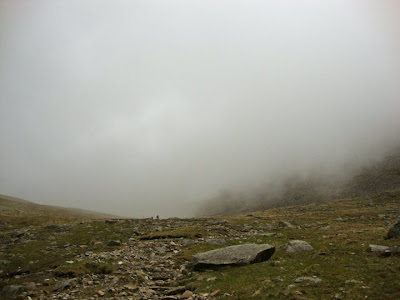 cloud on scafell pike
