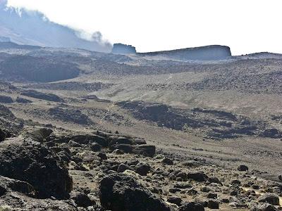 Lava Tower of Kilimanjaro