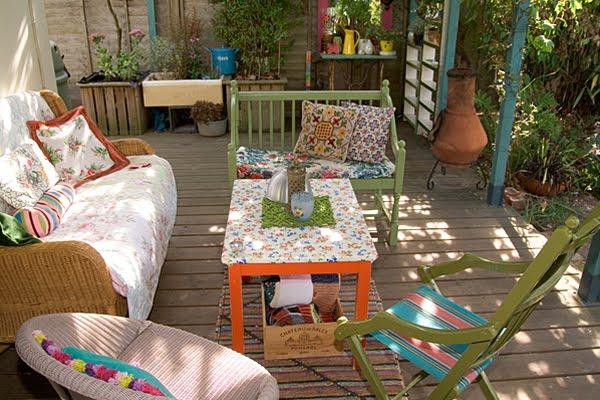 Boboho for Como decorar un patio con poco dinero