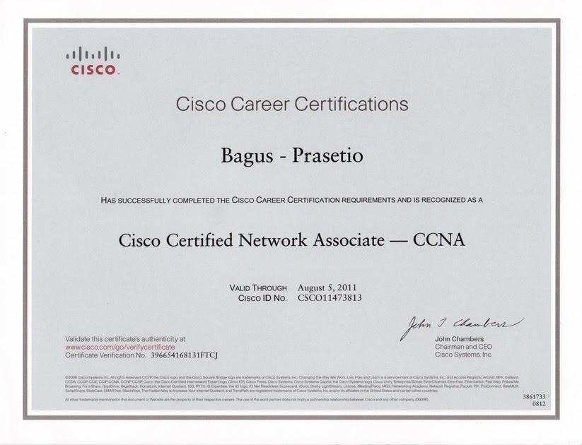 dulantus\' blog: The most-awaited CCNA certificate