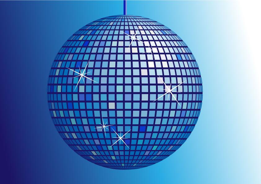 Simplesmente ni dezembro 2010 - Bola de discoteca de colores ...