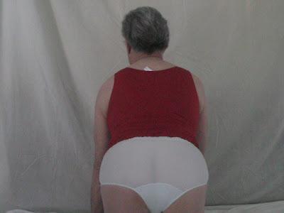 cut panties full White