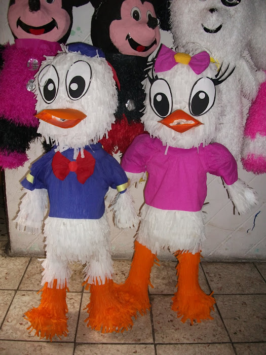 Deisy y Donald, mickey, mimi