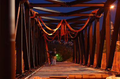 Image of Hot Metal bridge in Pittsburgh