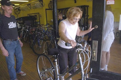 Image of customer Alberta Casto at The Bike Shop