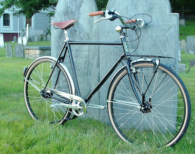 Image of custom commuting bicycle