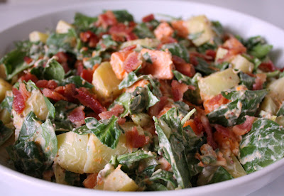 APPLE A DAY: Two Potato Salad