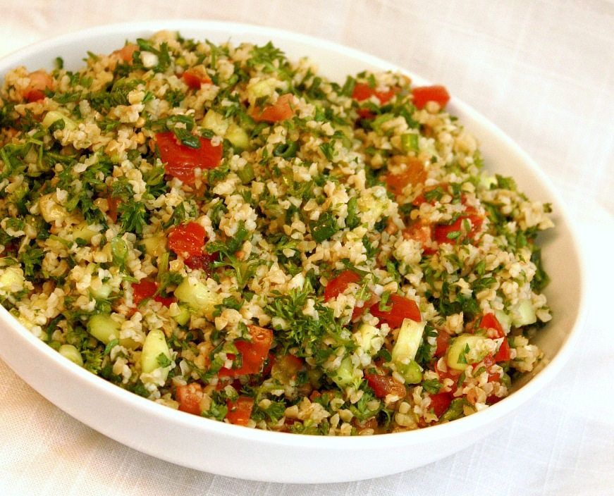 APPLE A DAY: 30 Things While I'm 30--Tabbouleh