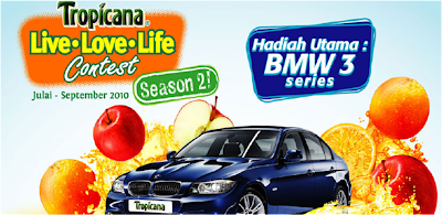 Tropicana 'Live Love Life' Contest