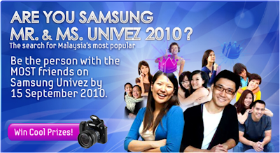 Samsung 'Mr. and Ms. Univez' Contest