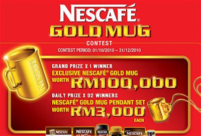 Nescafe 'Gold Mug' Contest