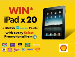 Shell Select 'iPad' Contest