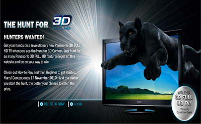 Panasonic 'Hunt For 3D' Contest