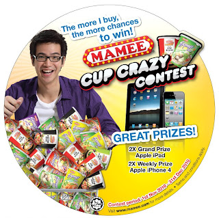 Mamee 'Cup Crazy' Contest