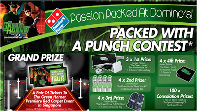Domino's Pizza 'The Green Hornet' Contest