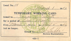 Temporary Working Card Local #8