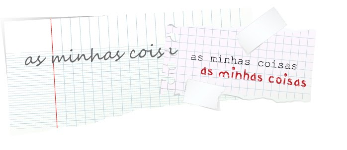 AS MINHAS COISAS