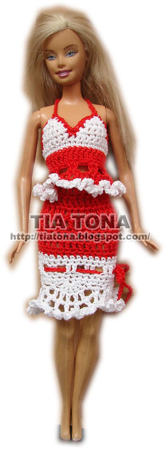 Tía Tona Crochet: Primer patrón para Barbie