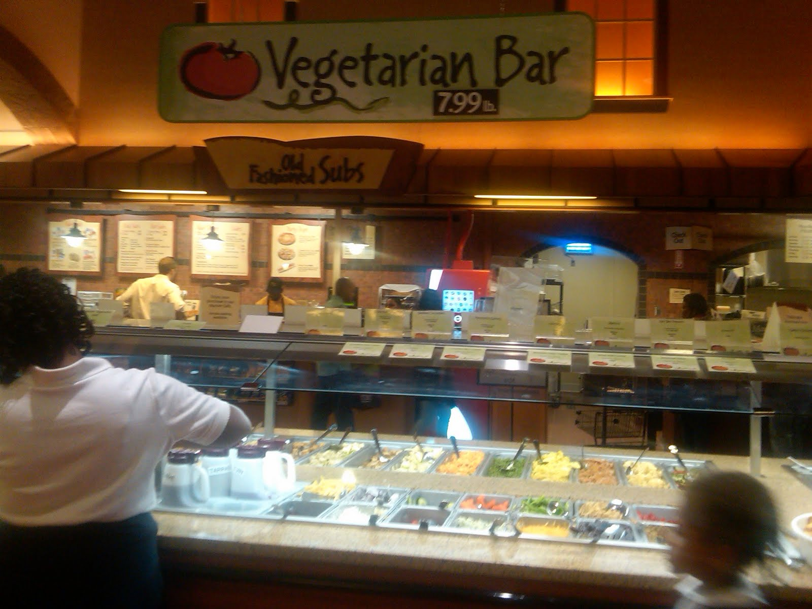 Foodiesandfatties warm welcome wonderful wonderous for Food bar wegmans