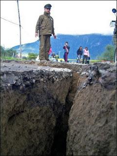 terremoto en chile fotos muertos heridos