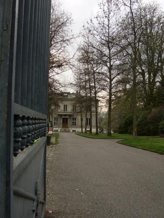 La villa Moynier qui appartenait à la famille de Fanny Paccard.